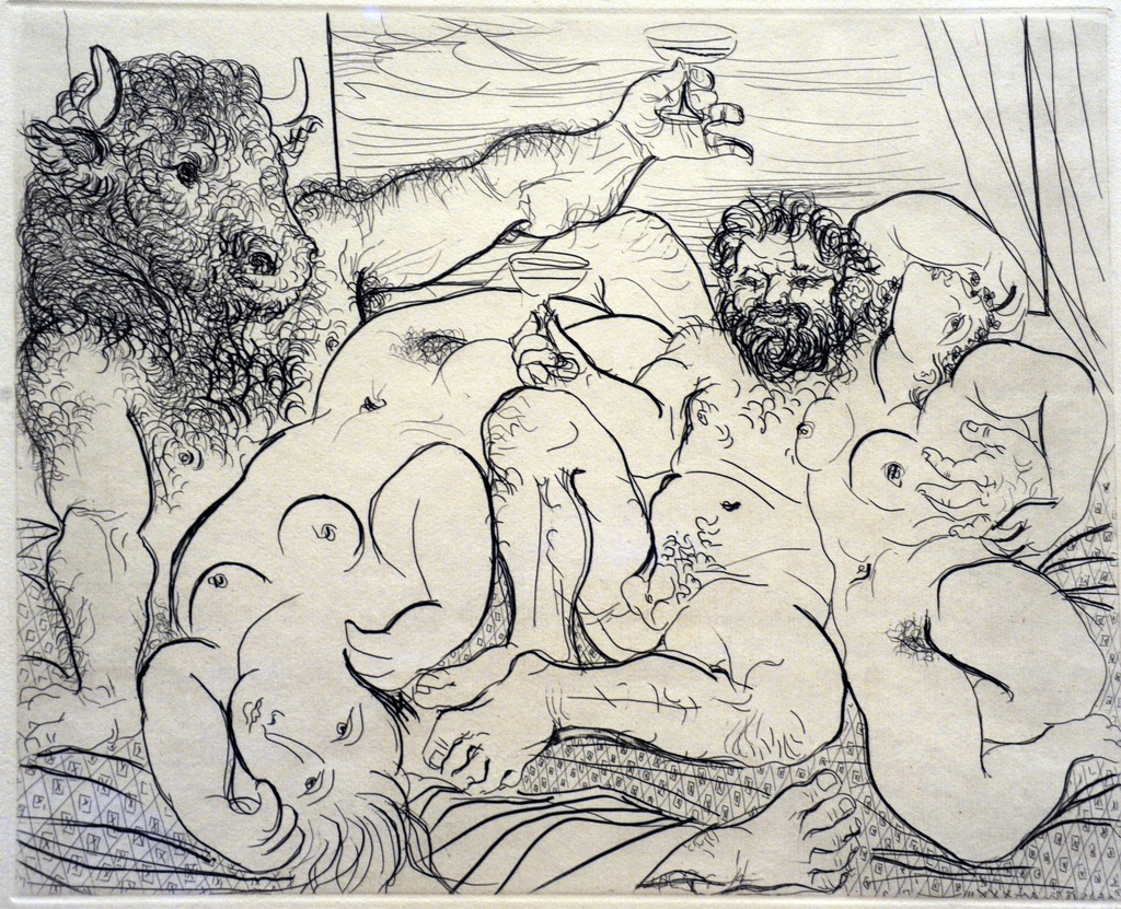 Picasso Bacchanal