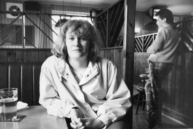 The very talented Andrea Dunbar, after her success with Rita, Sue and Bob Too in 1987.JPG.gallery