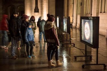 Secret Cities Exhibition at Marischal College